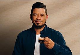 Anderson Moran, Coffee Artist