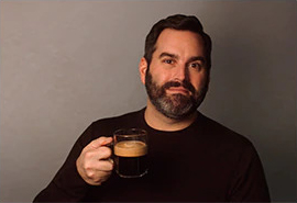 James Pergola, Nespresso Coffee Specialist